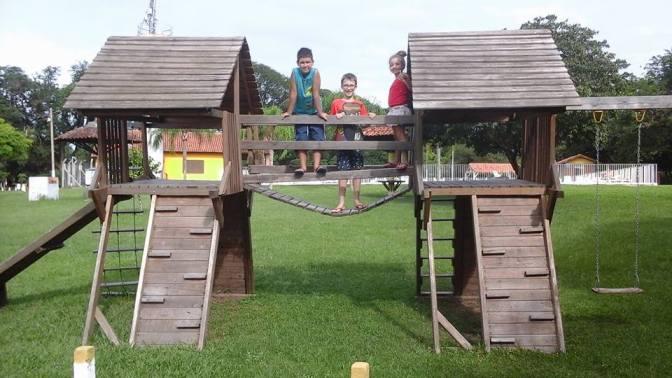 Sede Campestre - área de lazer para as crianças