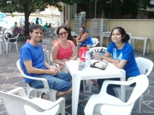 Novos associados Glederson Santos, Adriana Quevedo e Alice Rodrigues