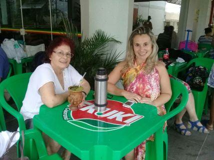 Associadas Maria Juraci Teixeira e sua filha Taís Teixeira