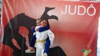 Atletas Maria e Júlia