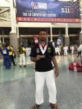 Thiago Franco - Medalha de prata no World Police and Fire Games