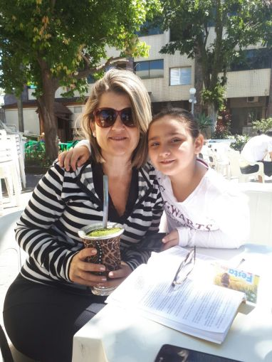 06 Fátima Cardoso e a afilhada Isabele